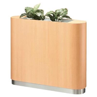フラワーボックス 間仕切り 両Rタイプ 幅900mm 花壇 花台 パーティション パーテーション プランターキャビネット プランターボックス プラントキャビネット オフィス エントランス おしゃれ 90cm