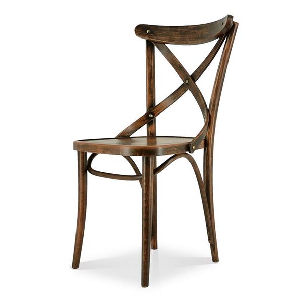 Comfy(コンフィー) Garage Line No.150 Chair (NO.150 チェア-TON) 木製イス 幅450×奥行500×高さ850mm 座面高さ440mm SK-No150