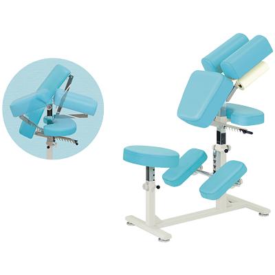 マッサージチェアー 椅子型施術台 ラウンドBタイプ/TB-542 メディカルチェアー 回復室 休憩室 診察用 イス 椅子 いす エステ 医療 病院 業務用 クイックマッサージ