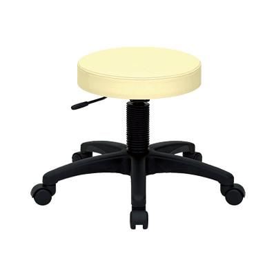 丸イス スツール 回転椅子 ホスピタルチェアー ガス昇降機能 キャスター付き/TB-439-01 丸椅子 病院用 診察用 業務用 家庭用 仕事用 チェアー 施術椅子