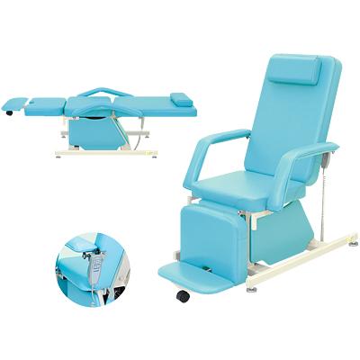 医療 イス 休憩室 診療 業務用 いす 治療用チェアー 回復室 エステ 電動治療チェアー(アジャスター付き) 肘付き/TB-577-02 病院 診察用 医療 メディカルチェアー 椅子