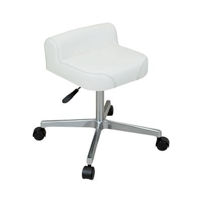 回転椅子 ビームチェアー(キャスター付き) ガス昇降機能/TB-62-01 丸椅子 病院用 診察用 業務用 家庭用 仕事用 チェアー オフィスチェア 事務椅子 事務いす