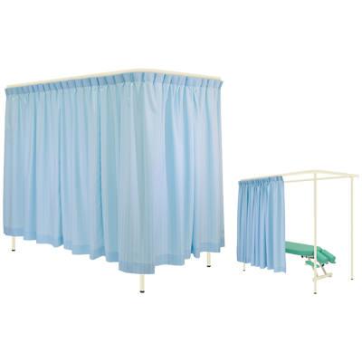 高田ベット サイズ選択可能 病院 診察室 スクリーン 衝立 カーテン 仕切り ドルチェレールCタイプ/TB-700