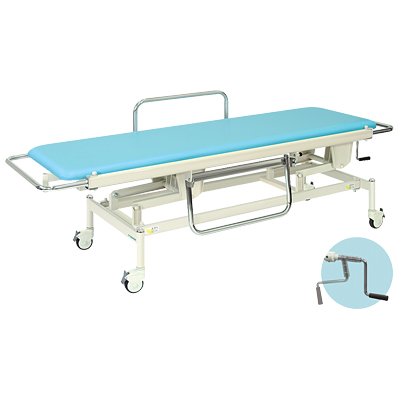 【法人様限定】高田ベッド 医療用ベッド 【高さ調節】 手動ストレッチャー100/TB-625