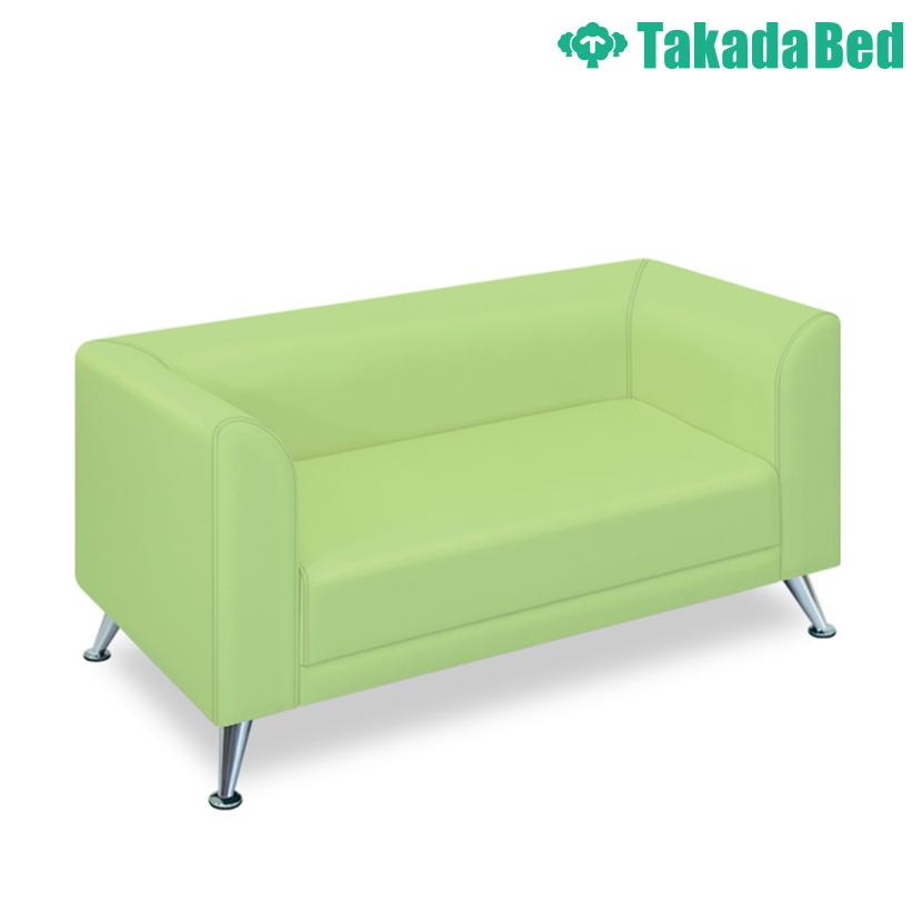 高田ベッド ソファー・チェア TB-1019-02 NMキング(02) デザイン性 美しいアルミ脚 背もたれ/肘曲線仕上 サイズ/カラー(18色)選択可能
