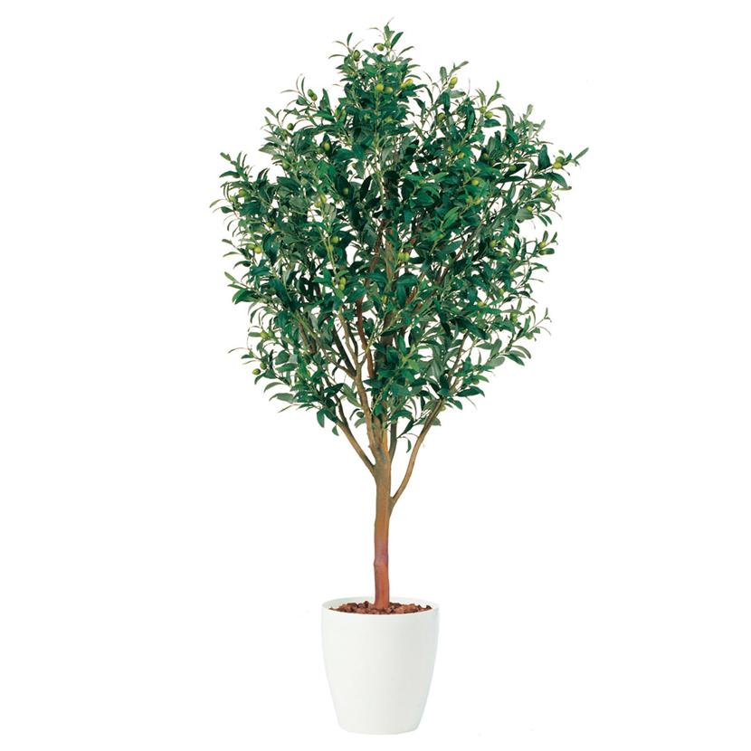 観葉植物 人工 樹木 ライプオリーブ 高さ1800mm Lサイズ 鉢:RP-370