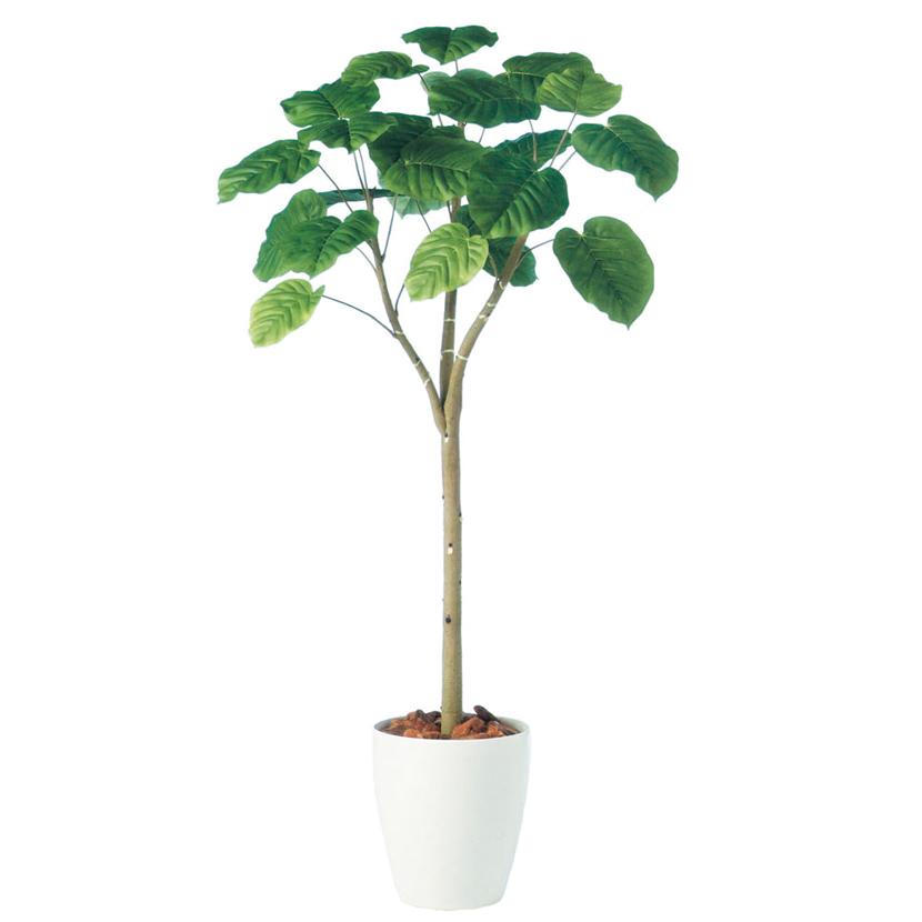 観葉植物 人工 樹木 ウンベラータ 高さ1500mm Mサイズ 鉢:RP-265