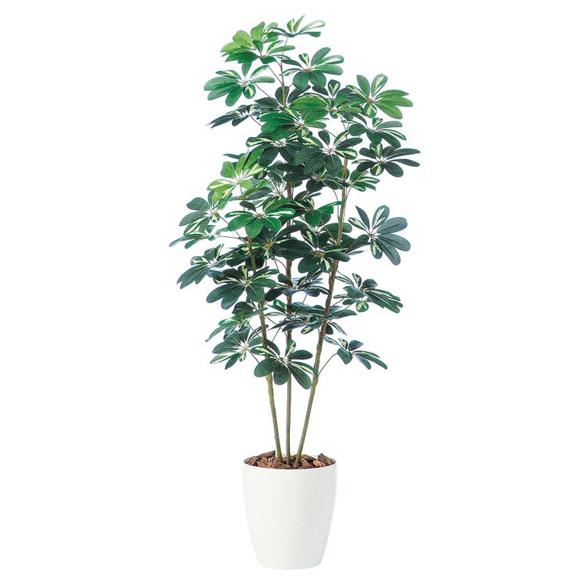 観葉植物 人工 樹木 シェフレラ 高さ1500mm Mサイズ 鉢:RP-265
