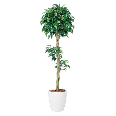 観葉植物 人工 樹木 ベンジャミン トピアリーFST 高さ1500mm Mサイズ 鉢:RP-265