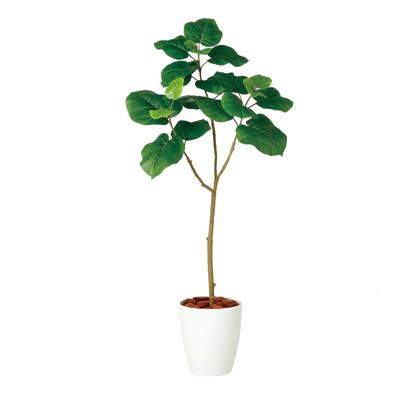 観葉植物 人工 樹木 ウンベラータ FST 高さ1200mm Sサイズ 鉢:RP-225