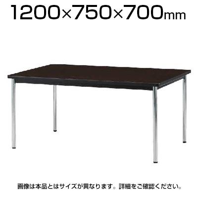 TJCシリーズ ミーティングテーブル アジャスター脚 幅1200×奥行750×高さ700mm / TJA-1275