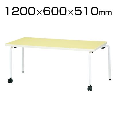 JRシリーズ キッズテーブル 角形 木製 幅1200×奥行600×高さ510mm / JR-1260