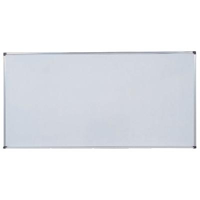 【激安】ホワイトボード 壁掛け 1800×900mm 無地タイプ ホーロー ホワイト H918 白板 whiteboard