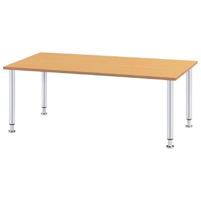ダイニングテーブル/幅1500×奥750mm メッキ脚タイプ/MYT-1575M