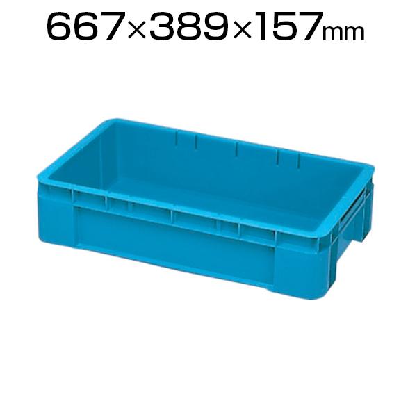 積水 TR型コンテナ 青 TR-30コンテナ コンテナボックス 収納 収納ボックス 物流 倉庫 保管用品 流通 倉庫作業 工場用品 整理保管箱 部品管理 通い箱 通函 おしゃれ 30L 自動搬送機対応