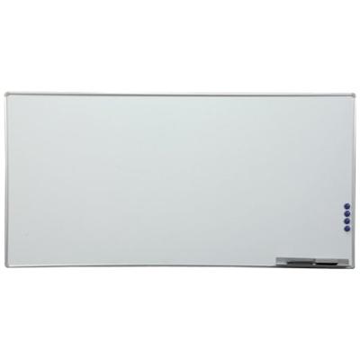【激安】ホワイトボード 壁掛け 1800×900mm 無地 横型 マグネット対応 アルミ枠 ペントレー、マグネット、マーカー、イレイサー付属 IR-AWB-918 白板 whiteboard 掲示板 1800 900 子供