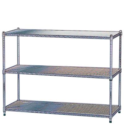 メタルラック 棚の高さ調整可能/幅1200×奥460×高さ900mm/IR-MR-1209 メタルシェルフ スチールラック 家庭用 業務用 収納 棚