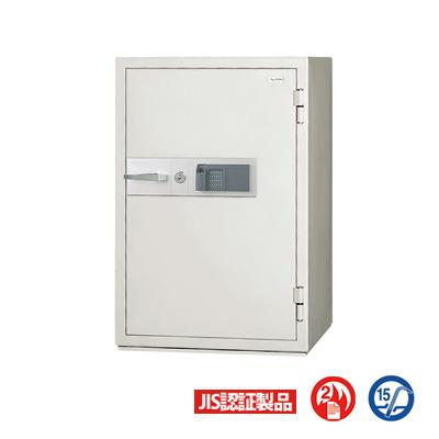 指紋認証式 指紋照合 耐火金庫 内容量/163L 重量/308kg 大型 業務用/KCJ52-2FPE【日本アイ・エス・ケイ】