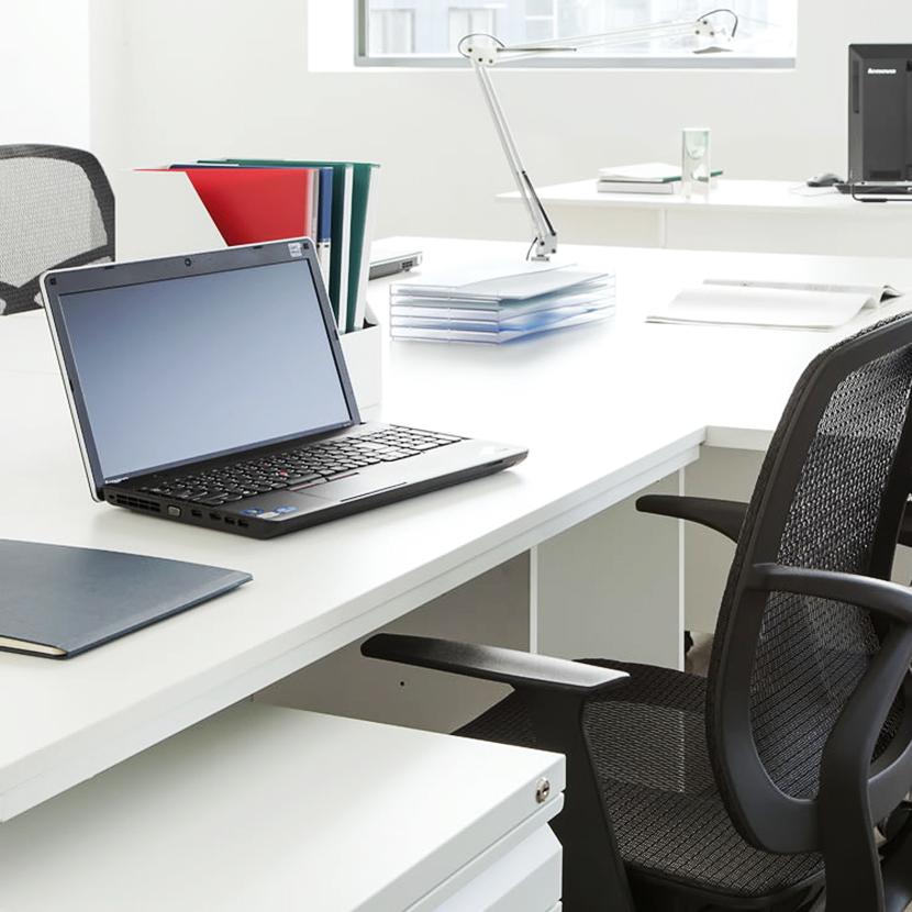 Office Desk White Office Desk 1200 X 600 Desk Office Desk Flat Desk  Computer Desk PC Desk Office Learning Desk Study Desk Office Furniture  Cheap 120 Cm ...