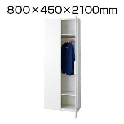 L6 ロッカー L6-E210L W4 ホワイト 幅800×奥行450×高さ2100mm