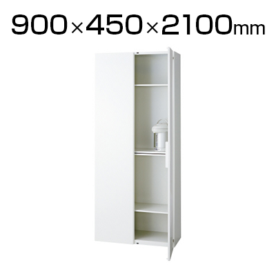 L6 キッチンユニット L6-210KU W4 ホワイト 幅900×奥行450×高さ2100mm