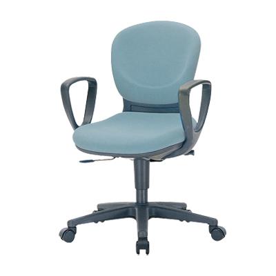 【日本製】 オフィスチェア 肘付き 事務椅子 リクライニングチェア マット交換可 布張りパソコンチェア デスクチェア OAチェア 学習イス 学習チェア 学習椅子 いす イス 椅子 国産