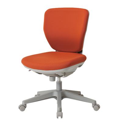 【日本製】 ローバック オフィスチェア フリーシンクロロッキングチェア マット交換可 布張り パソコンチェア デスクチェア OAチェア 学習イス 学習チェア 学習椅子 いす イス 椅子 国産 (オレンジ・グリーン:受注生産)