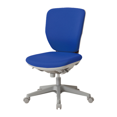 【日本製】 ハイバック オフィスチェア フリーシンクロロッキングチェア マット交換可 布張り パソコンチェア デスクチェア OAチェア 学習イス 学習チェア 学習椅子 いす イス 椅子 国産 (オレンジ・グリーン:受注生産)