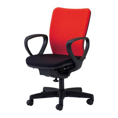 【日本製】 オフィスチェア 肘付き 事務椅子 シンクロロッキングチェア マット交換可 布張り パソコンチェア デスクチェア OAチェア 学習イス 学習チェア 学習椅子 いす イス 椅子 国産 ウォントチェア