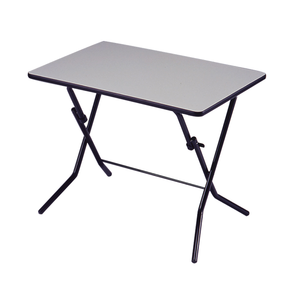 スタンドタッチテーブル ワイド 幅900×奥行600×高さ700mm 耐荷重80kg 折りたたみ式 耐薬品性・耐熱性 完成品 日本製