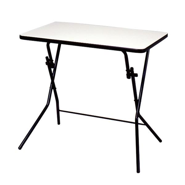 スタンドタッチテーブル 幅750×奥行500×高さ700mm 折りたたみ式 耐薬品性・耐熱性 完成品 日本製