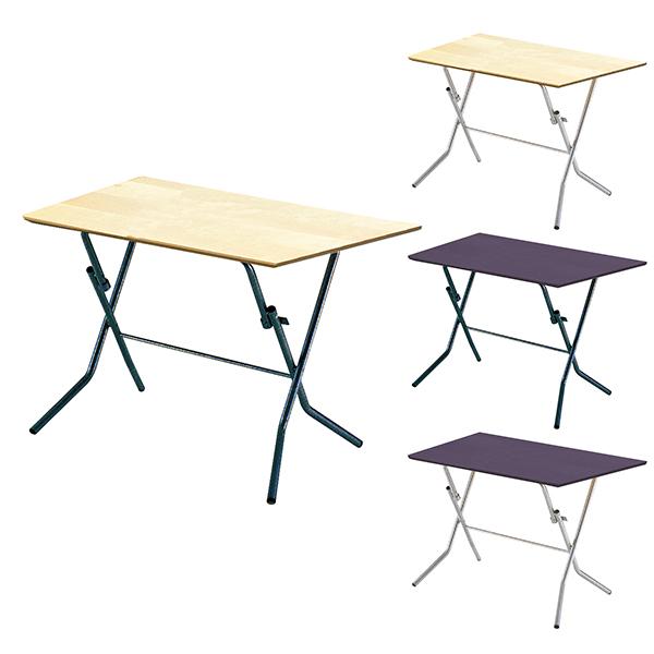 スタンドタッチテーブル 角型 幅900×奥行600×高さ700mm 折りたたみ式 完成品 日本製