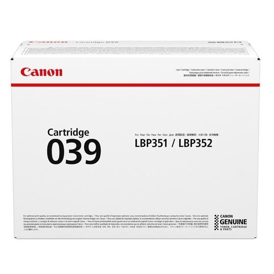 ポイント10倍 キヤノン Canon トナー カートリッジ039 (CRG-039/cartridge-039) 0287C001 国内 純正品