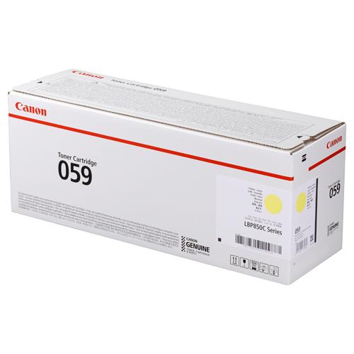 ポイント20倍 キヤノン キャノン Canon トナー カートリッジ 059 Y イエロー (CRG-059YEL/Cartridge-059YEL) 3620C001 国内 純正品