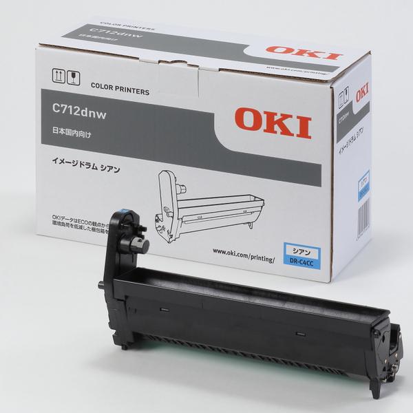 OKI 沖 データ DR-C4CC イメージ ドラム シアン 国内 純正品:オフィスクリエイト店