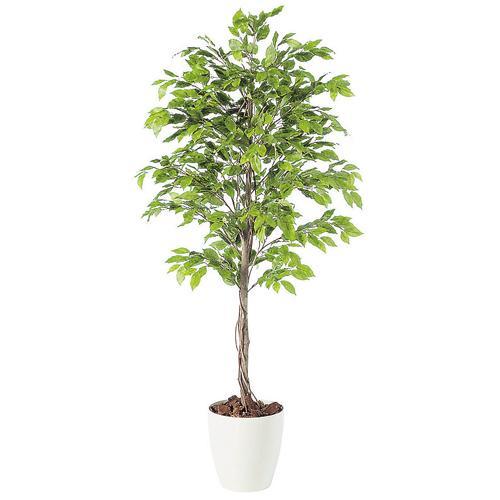 送料無料【ベンジャミナ スプラッシュ RP鉢タイプ】W70cm×H150cmフェイクグリーン 人工観葉植物 インテリアグリーン オフィスグリーン 人工樹木 造花ベンジャミナ