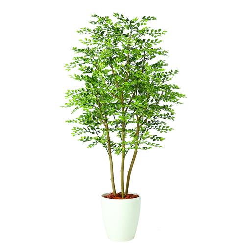 送料無料【ゴールデンリーフ FST RP鉢タイプ】W70cm×H150cmフェイクグリーン 人工観葉植物 インテリアグリーン オフィスグリーン 人工樹木 造花ゴールデンリーフ