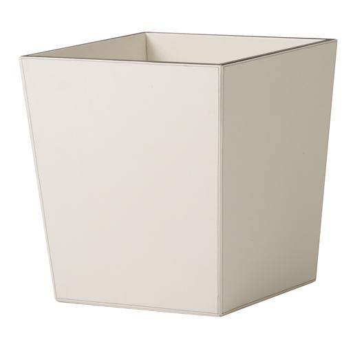 送料無料【器 レザー・プランター M】(ホワイト:WH)適応鉢:懸崖8号/RP-265鉢カバー