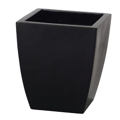 送料無料【器 Q bee キュービー】Mサイズ(ブラック:BK)適応鉢:懸崖10号/RP-300鉢カバー