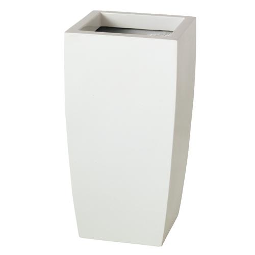 送料無料【器 Lsquare Lスクエア】(ホワイト:WH)適応鉢:懸崖8号/RP-265鉢カバー