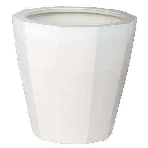 送料無料【鉢カバー NE-13】Lサイズ(ホワイト:WH)適応鉢:懸崖10号鉢カバー/器