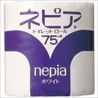 【セット商品】王子ネピア / ネピア トイレットロール75M 80ロール 4901121220109 (10セット)