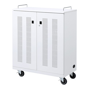 サンワサプライ ノートパソコン収納キャビネット CAI-CAB22N