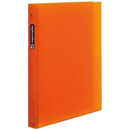 【送料無料・単価404円・130セット】マルマン ファイルノート セプトクルール B5 オレンジ F300B-09(130セット)