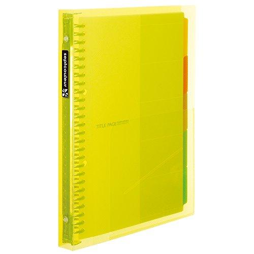 マルマンファイルノートセプトクルール B5 yellow F615B-04 受注生産品 マルマン 流行のアイテム 4979093615643 00027795 B5ファイルノートセプトクルールイエロー