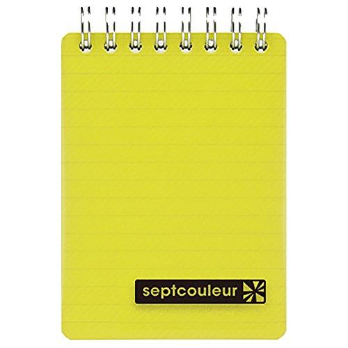 マルマンメモセプトクルール A7 yellow N578B-04 送料無料 単価140円 360セット N578B-04 セプトクルール 訳あり品送料無料 イエロー マルマン メモ おすすめ A7