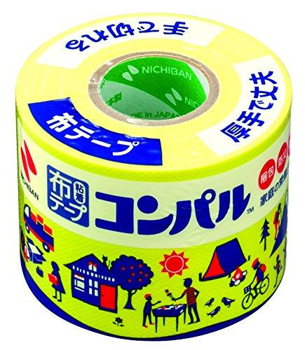 Nichiban cloth テープコンパル 50mm 10m winding 内祝い CPN2-50 yellow 送料無料 150セット 単価336円 布テープ コンパル 上品 黄色 ニチバン 50mm×10m巻 CPN2-50