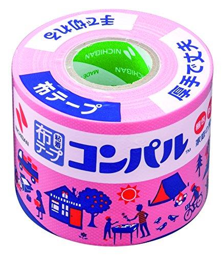 お金を節約 Nichiban cloth テープコンパル 50mm 10m winding CPN11-50 pink 送料無料 50mm×10m巻 爆売りセール開催中 布テープ ニチバン CPN11-50 ピンク 150セット コンパル 単価336円