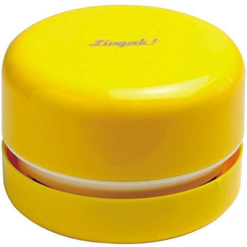 ソニック リビガク スージー 乾電池式卓上そうじ機 イエロー LV-1845-Y(10セット)