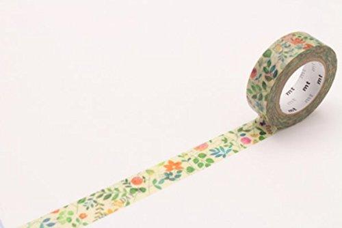 【単価117円・130セット】カモ井加工紙 MTEX水彩花柄 MTEX1P109(130セット)